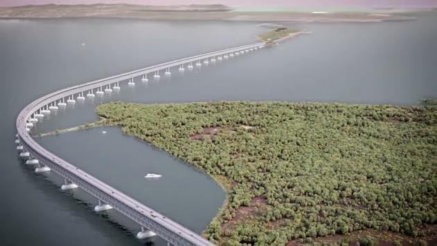 В Тамани и Керчи строят заводы по производству стройматериалов для моста