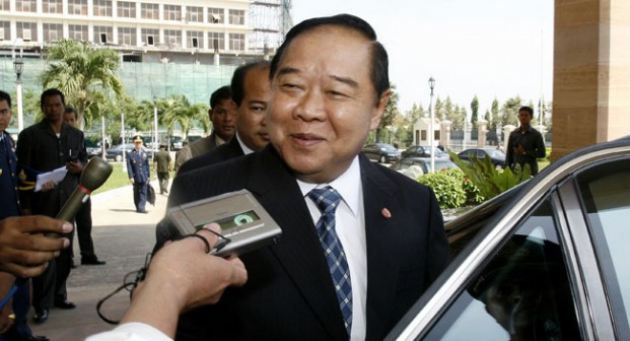 Генерал-полковник Правит Вонгсуван— министр обороны Таиланда.