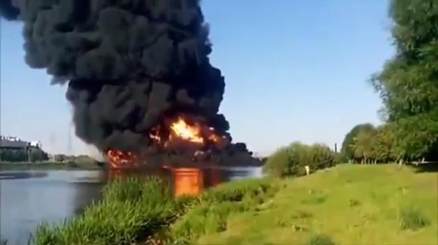 Мосгордума: Версии «Транснефти» о причинах пожара усложняли понимание