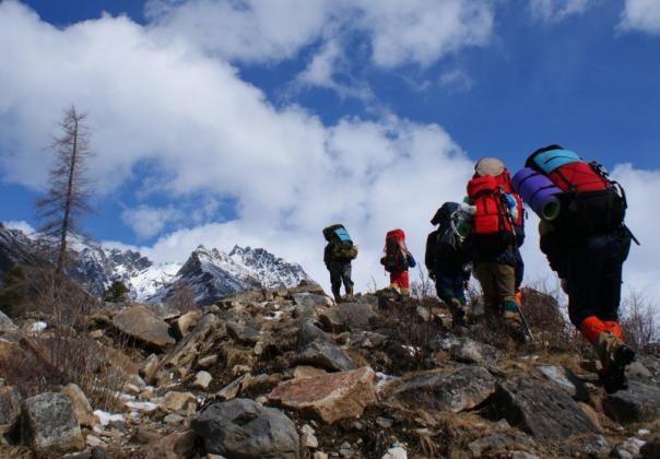 Группа польских туристов пропала в горах Кабардино-Балкарии