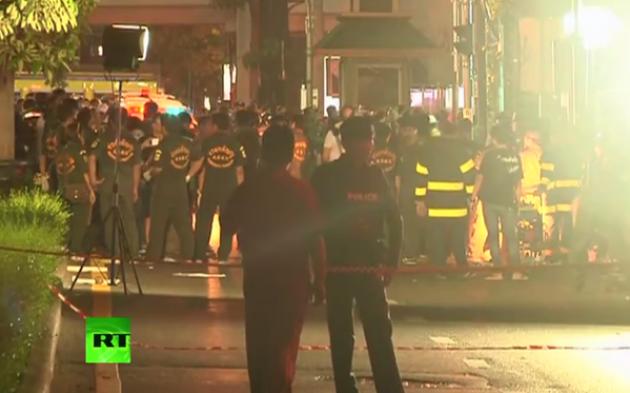 Теракт в Бангкоке.