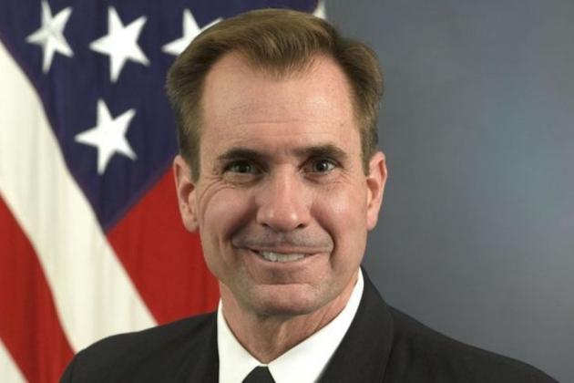 Джон Кирби— официальный представитель Госдепа.