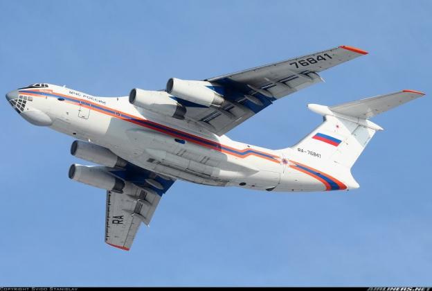 Спецборт МЧС России эвакуировал белорусов и украинцев из Сирии