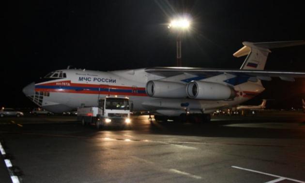 Самолёт МЧС доставил из Сирии около 60 граждан России и стран СНГ