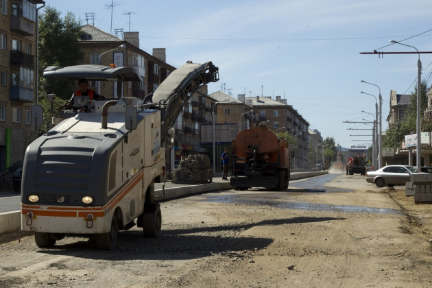 Реконструкция автомагистралей. Фото: krskstate.ru