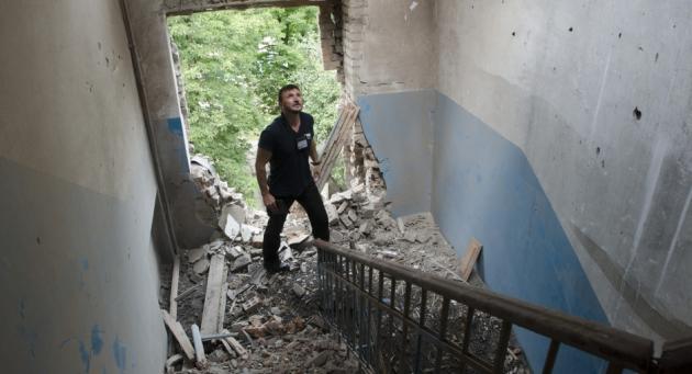 ООН: В войне в Донбассе погибли почти 7 тыс. человек, еще 17 тыс.— ранены
