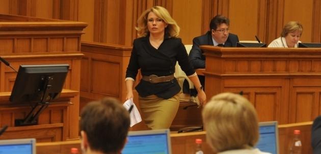 Уполномоченный по правам человека в Московской области Екатерина Семёнова. Фото mosoblduma.ru