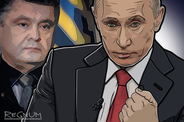 «Всё. Точка»—  Путин о реакции Порошенко на Крым