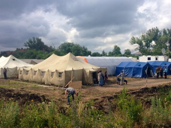 В пунктах размещения на Дону прибавилось ещё 200 беженцев с Украины