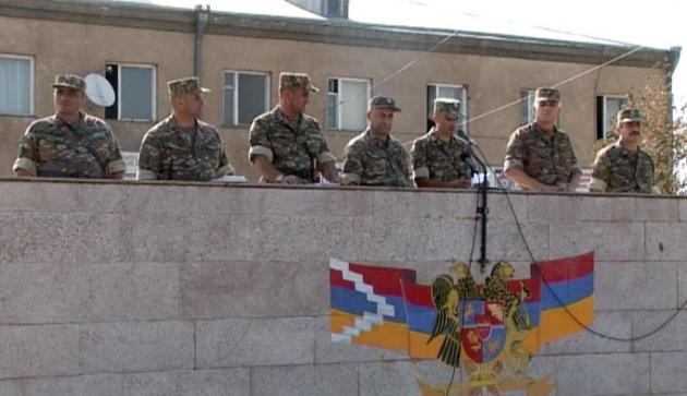 Армия обороны Нагорного Карабаха вступила в новый учебный этап