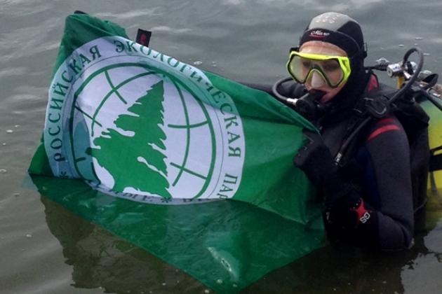Акция «Зеленых».