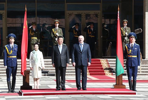 Китай назван «ключевым стратегическим партнёром» Белоруссии