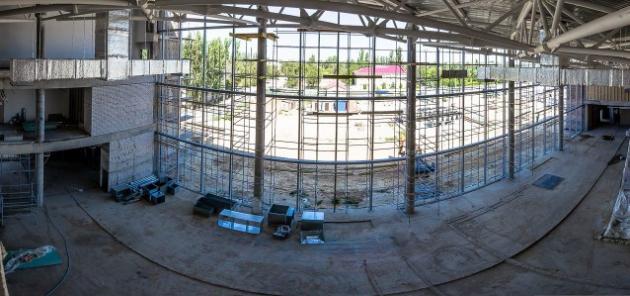 Новый строящийся терминал в аэропорту Волгограда фото: mav.ru