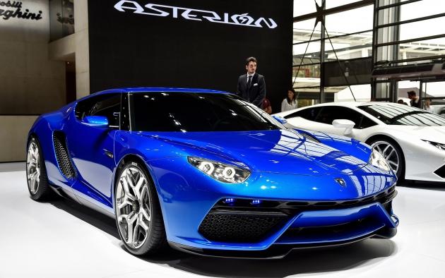 Первый гибрид Lamborghini Asterion.