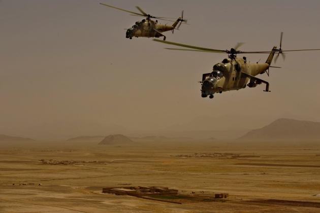 Вертолет Ми-35.