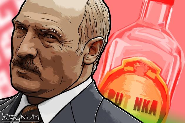 Лукашенко требует остановить импорт алкоголя из России