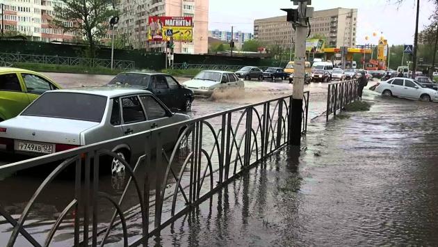 В трех районах Ставрополья и Железноводске после градобоя введен режим ЧС