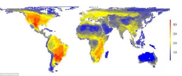 Как выглядела бы планета без людей