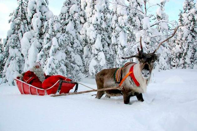 Финский Санта-Клаус разорился из-за оттока туристов из РФ
