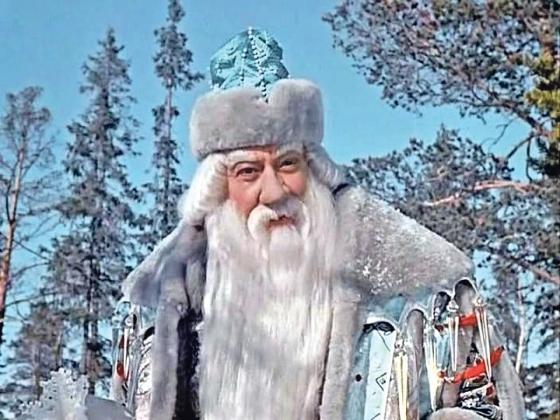 Кадр из фильма «Морозко». 1964. Режиссер Александр Роу.