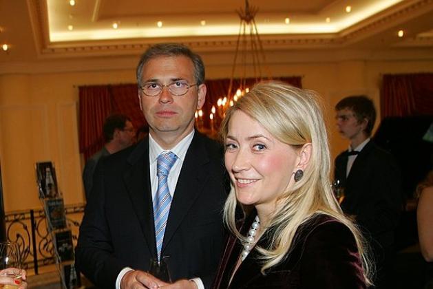 Алексей Кузнецов и Жанна Булах.
