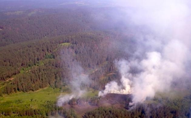 Лесные пожары в Иркутской области. Фото: irkobl.ru