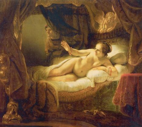 Рембрандт. «Даная», 1636-1647