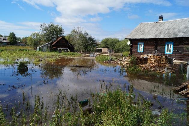 Подтопление огородов Иллстрация:66.mchs.gov.ru