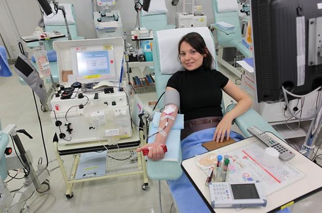 В Тамбовской области доноры сдают кровь безвозмездно