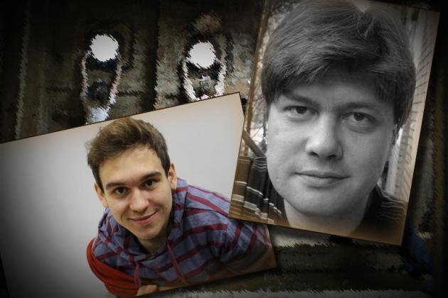 Даниил Пиктурный и Андрей Пронин. Фестиваль «Точка Доступа». Коллаж ИА REGNUM