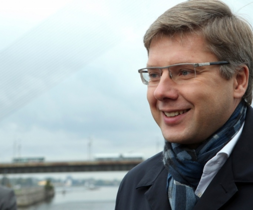 «Русский» мэр Риги Нилс Ушаковс.