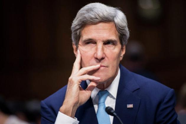 Джон Керри— Государственный секретарь США.