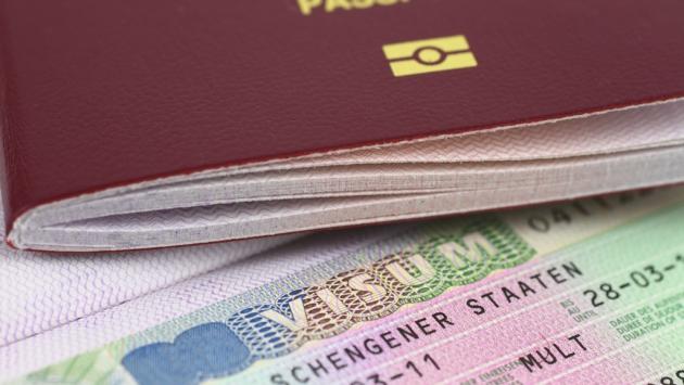 Паспорт и виза.