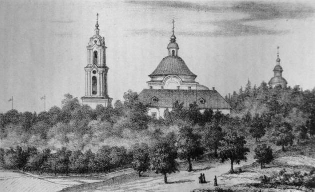 Калужский Свято-Лаврентьевский монастырь.