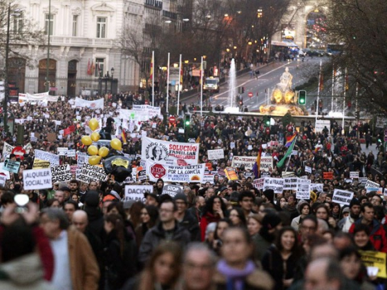 Тысячи финнов выйдут на акцию протеста против сокращения бюджета