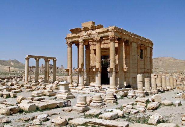 Храм Ваала в Пальмире.