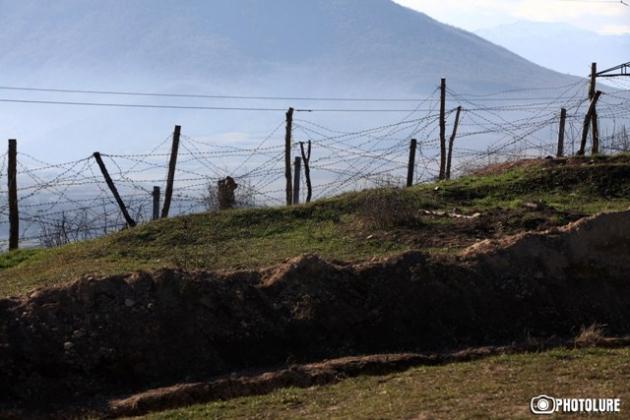 Передовые позиции в Нагорном Карабахе. Фото: Photolure