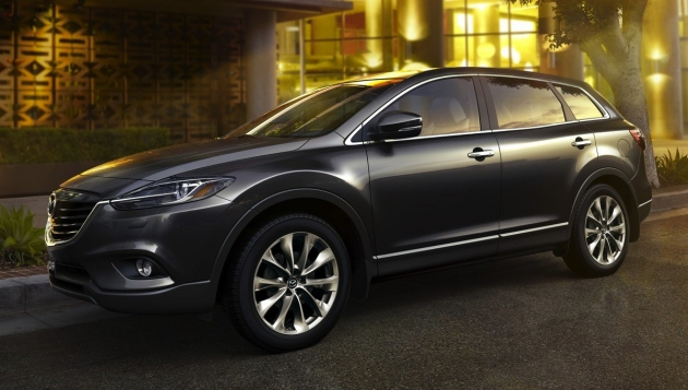 Новая Mazda CX-9 сняла камуфляж