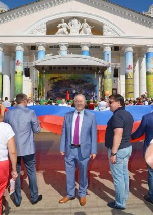 Более  45 тысяч калужан приняли участие в празднования Дня города