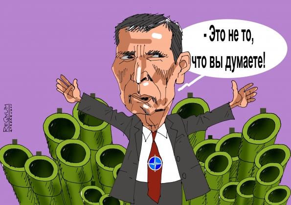 НАТО. Иллюстрация: Александр Горбаруков ИА REGNUM