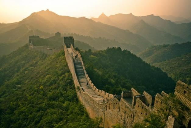Великая китайская стена. Изображение: mmm-tasty.ru
