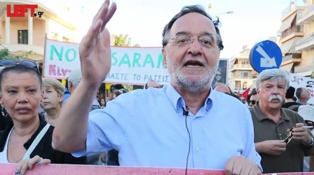 Панайотис Лафазанис. Кадр: youtube.com