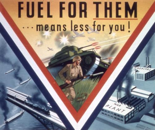 Плакат времен Второй Мировой войны. США.