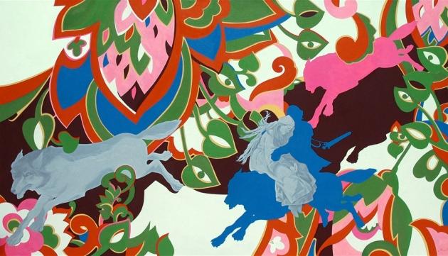 Мария Семенская, «Иван-царевич на сером волке», 2009.