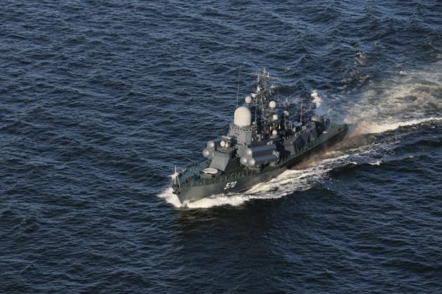 10 кораблей ВМФ России вышли в Балтику на стрельбы и глубинные бомбометания