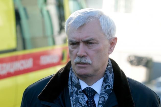 Глава Петербурга сравнил инвесторов с «драгоценной вазой»