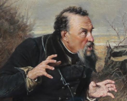 В. Перов. Охотники на привале. 1871 год. Фрагмент
