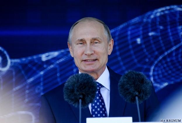 Путин: Россия открыта для сотрудничества в аэрокосмической индустрии