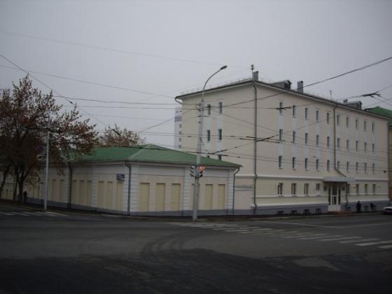 Здание Центрального исторического архива Бшкирии.