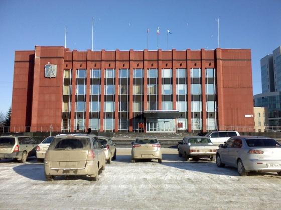 Здание городской администрации Ижевска.